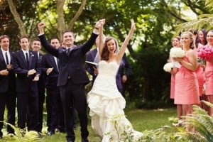 Go for something upbeat and have fun! [Image via Bridal Musings]