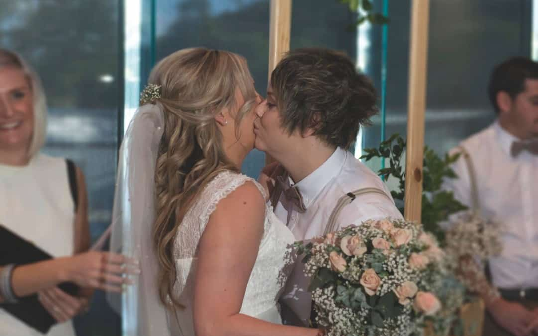 Sammy and Lauren Tie the Knot